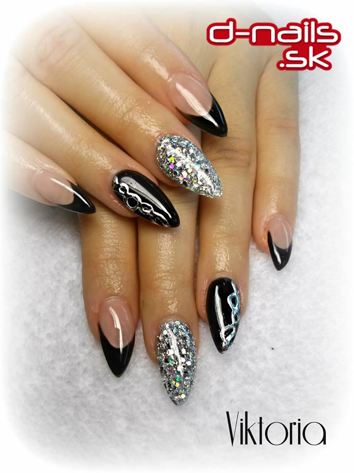 Trendy Gel Nail Design Ideas: Nails, Farebné UV Gély, Mihalnice